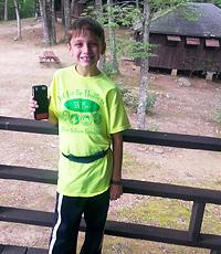 Nathan Schmidt wth bionic pancreas